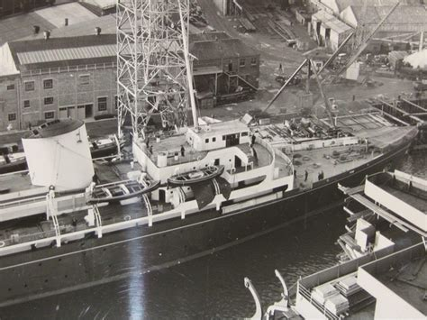 Boat Auctions Glasgow by Photographs Of Hmy Britannia Construction In