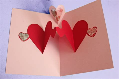 make a card how to make heart pop up cards www imgkid com the image kid has it