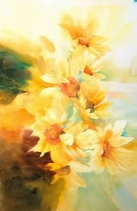 watercolor flower paintings weneedfun