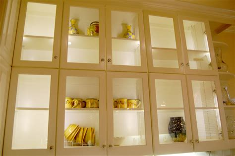 inside kitchen cabinet lighting ideas led cabinet interior lighting traditional kitchen st