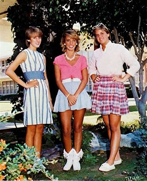 Other popular 80u0026#39;s outfits. These outfits consisted of plaid or striped skirts and a shirt. They ...
