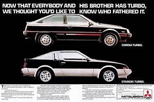 1982-1989 Mitsubishi Starion