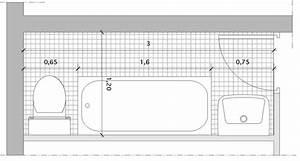 5 plans pour agencer une salle de bains couloir i styles With plan petite salle de bain en longueur