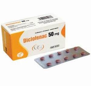 Declofenac 50mg Tablets