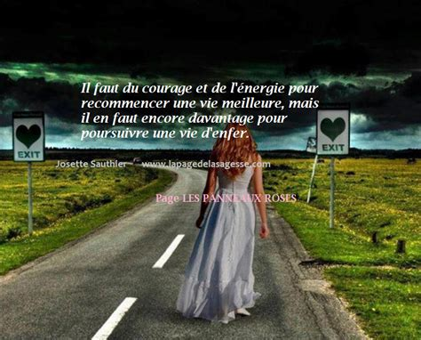 la page de la sagesse citation pour donner le courage de