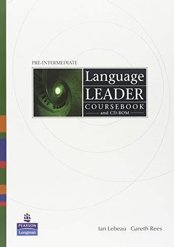 Language Leader Preintermediate Workbook Without Key Con Cd Audio Per Le Scuole Superiori