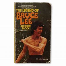 The Legend Of Bruce Lee By Alex Ben Block, Collectible Bruce Lee Book  Bruce Lee Memorabilia