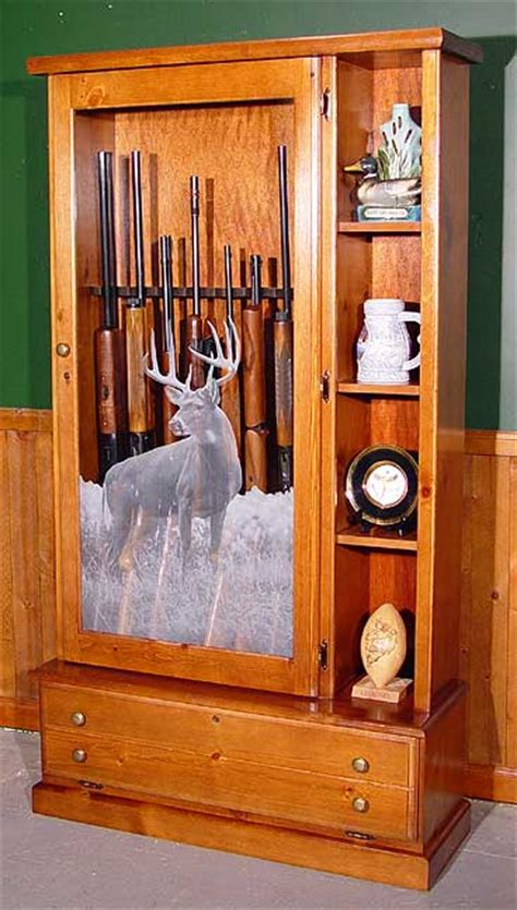 woodwork custom wood gun cabinets plans pdf plans