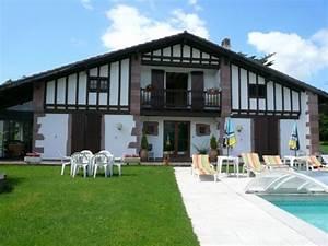 maison pour 12 personnes a osses avec piscine et vue With location maison avec piscine pays basque
