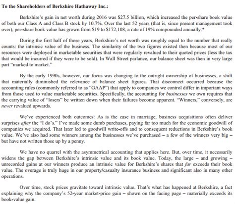 berkshire hathaway letter バークシャー ハサウェイ決算まとめ brk b ウォーレン バフェット動向の定点観測