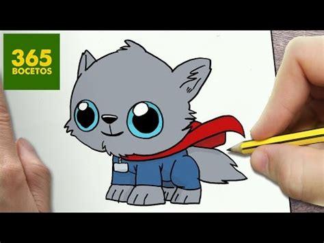 como dibujar perro thor kawaii paso  paso dibujos kawaii faciles   draw  dog thor
