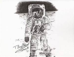 Astronaut drawing   Art   Pinterest   Astronaut drawing ...