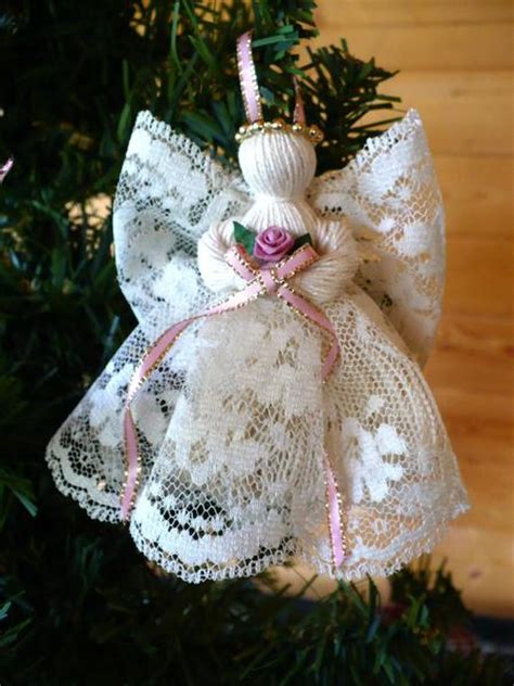 victorian handmade lace angels johnnyappleseedhomeandyard