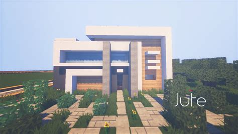 jute complex minecraft modern house by lil lintu on deviantart