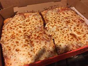 Deep dish cheese pizza - Picture of Little Caesars ...