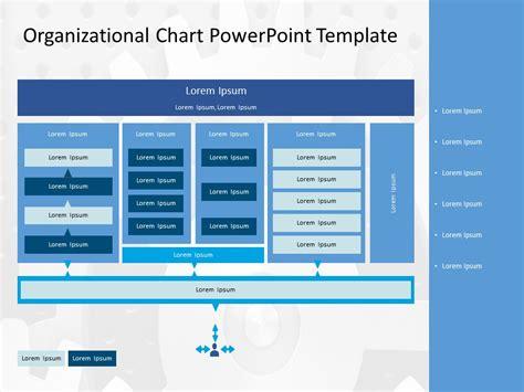 organizational chart powerpoint template organizational