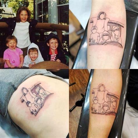 kreative geschwister tattoo ideen und inspirationen