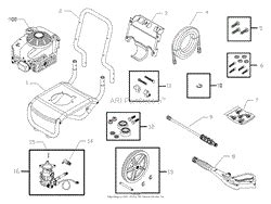 briggs and stratton power products 020286 0 580 752370 2 800 psi craftsman parts diagram for