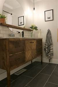 Before, U0026, After, A, Tiny, Bathroom, Gets, A, Stylish, Space