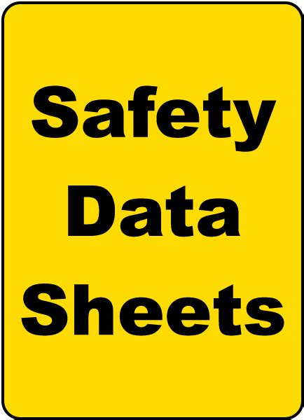 safety data sheets safety data sheets sign h1674 by safetysign com