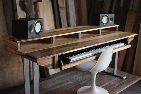 full size key studio desk  audio video