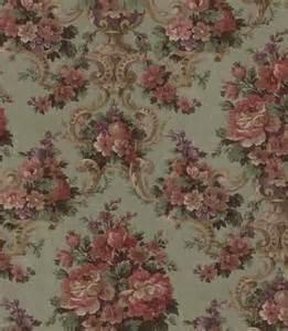 Vintage Victorian Rose Wallpaper