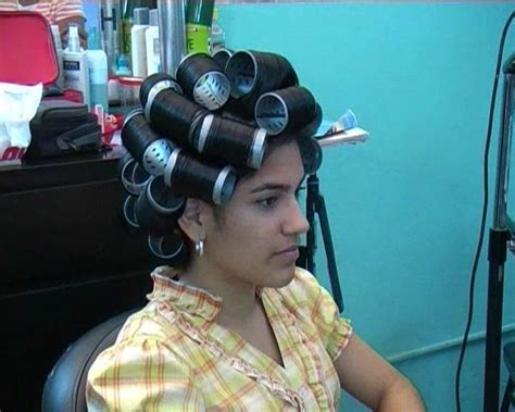 Katherine bigoudis magnetique (With images) | Hair rollers ...