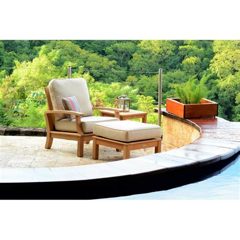 birds casual monterey teak patio chair