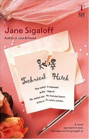 technical hitch red dress ink novels  jane sigaloff reviews discussion bookclubs lists