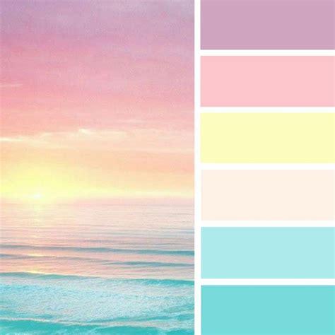 pretty sea color palettepastel color palette spring
