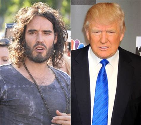 russell brand donald trump he s a major loser russell brand and billionaire