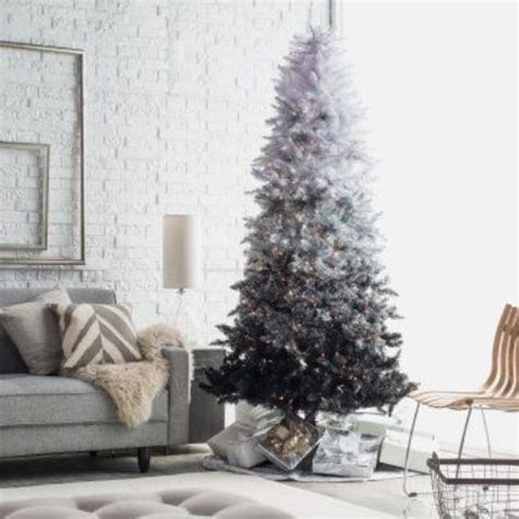 ombre christmas trees  tree decor ideas shelterness