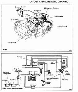 Toyota Supra Jza80    2jz  Emission Control Systems 2jz