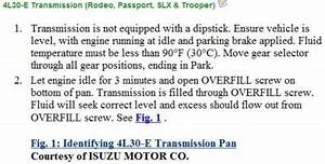 Service manual [How To Check Transmission Fluid A 2000