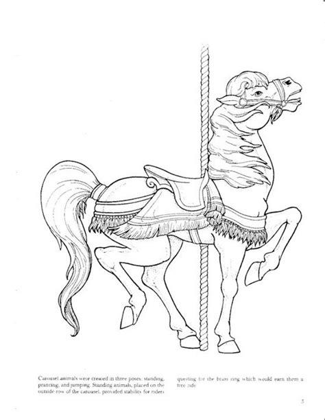 Carousel Animals coloring book - bobogirl Vah - Picasa Web