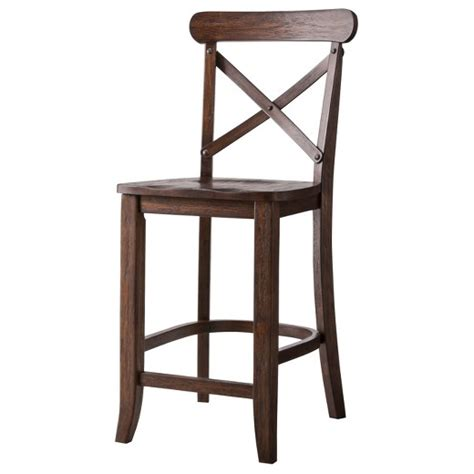 target kitchen island cart harvester x back 24 quot counter stool hardwood beekman 1802