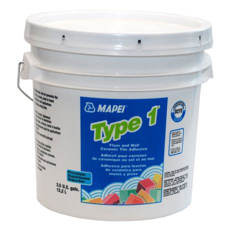 wall tile adhesive mapei type 1 3 5 gal floor and wall ceramic tile adhesive