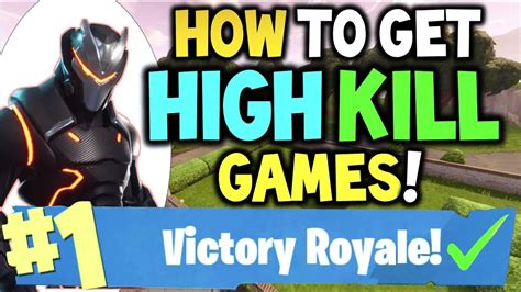 high kill games  fortnite   win