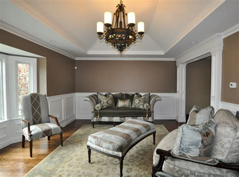 This Living Room Comes To Life With Millwork. Recessed