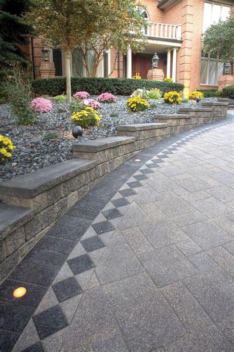 unilock paver 51 best unilock pavers wallstone images on
