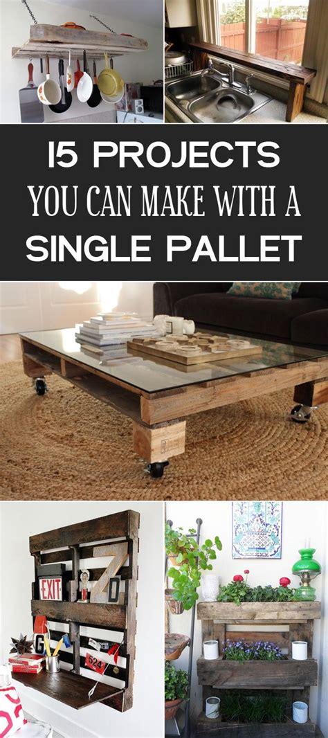 diy projects      single pallet