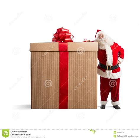 big gift stock photography image 35608412