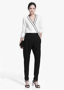 Combinaison Femme Noir Et Blanc : osez la combinaison 14 mod les chic et f minins ~ Melissatoandfro.com Idées de Décoration