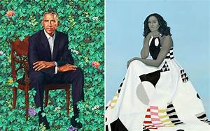 Official Presidential Portraits of Barack & Michelle Obama ...