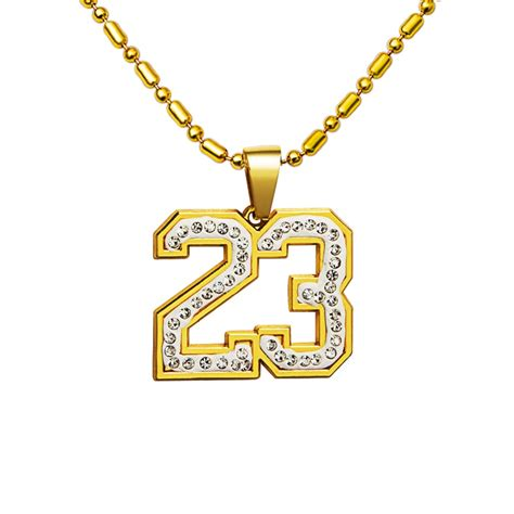 Popular Number 23 Necklace-Buy Cheap Number 23 Necklace