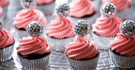 disco cupcakes party disco pinterest cakes