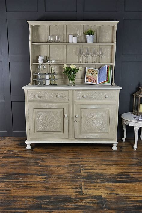 kitchen dresser shabby chic shabby chic antique oak kitchen dresser by the treasure trove shabby chic vintage furniture