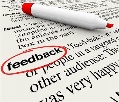 Feedback 360 Degree Word Definition Dictionary Circled