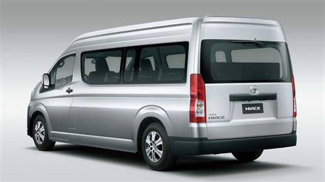 Toyota Hiace 2019 by 2019 Toyota Hiace Premium Mpv Officially Unveiled