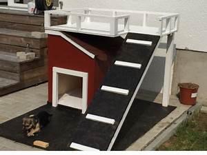 Hundehütten Selber Bauen : hundeh tte mit terrasse hundeh tten pinterest dog houses dogs und dog house plans ~ Eleganceandgraceweddings.com Haus und Dekorationen